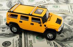 汽车玩具 图库摄影