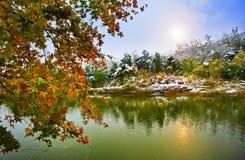 снежок места Стоковое Изображение RF