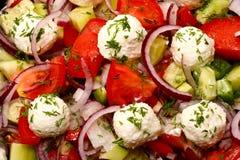 греческий салат Стоковое Изображение