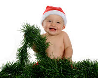 малыш рождества счастливый Стоковые Фотографии RF