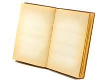 книга старая раскрывает Стоковые Изображения RF