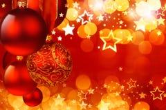 Σφαίρες Χριστουγέννων Στοκ Φωτογραφίες