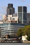 伦敦地平线 免版税库存照片