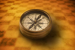 企业指南针目标方法 免版税库存照片