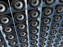 τοίχος ομιλητών Στοκ εικόνα με δικαίωμα ελεύθερης χρήσης