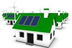 зеленый цвет энергии Стоковые Изображения