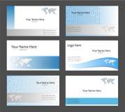 шаблоны визитной карточки Стоковое фото RF