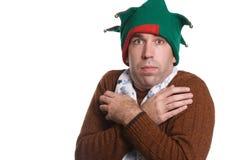圣诞节寒冷 免版税图库摄影