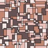 无缝抽象的模式 图库摄影