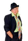 时髦的女人 免版税库存照片