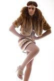 αφρικανικό κορίτσι μόδας Στοκ Εικόνα