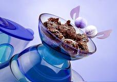 巧克力饼干 免版税库存图片