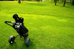γκολφ εξοπλισμού Στοκ εικόνες με δικαίωμα ελεύθερης χρήσης