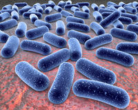 τρισδιάστατος ιός απεικό& Στοκ εικόνα με δικαίωμα ελεύθερης χρήσης