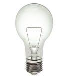 电灯泡剪报光路径 库存照片