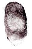 δακτυλικά αποτυπώματα Στοκ φωτογραφία με δικαίωμα ελεύθερης χρήσης