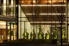 офис детали здания самомоднейший Стоковая Фотография