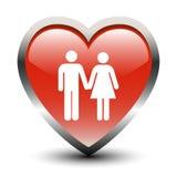 μορφή εικονιδίων καρδιών ζ Στοκ εικόνες με δικαίωμα ελεύθερης χρήσης
