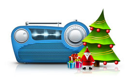 Радио рождества Стоковое Изображение RF