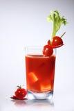 血淋淋的汁液玛丽蕃茄 库存照片