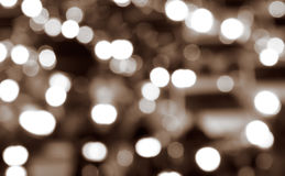 抽象背景城市光晚上 免版税库存图片