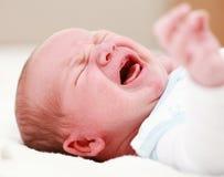 плакать младенца Стоковые Фото
