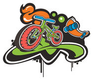 质朴的自行车 免版税图库摄影