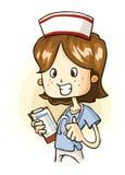 护士年轻人 免版税库存照片