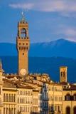 城市佛罗伦萨意大利 库存照片