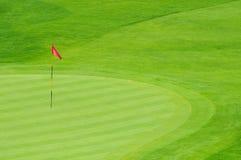 зеленый цвет гольфа Стоковое фото RF