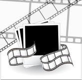 изогнутая пленка фотографическая Стоковое фото RF