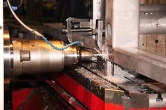 подвергать механической обработке центра Стоковое Фото