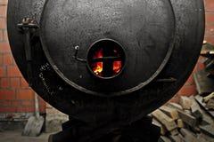 老锅炉 免版税图库摄影