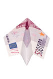 ευρώ αεροπλάνων Στοκ Εικόνα