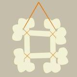 рамка косточек Стоковые Изображения