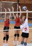 волейбол спички Стоковые Фото