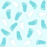 婴孩脚印 免版税库存图片