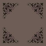 框架装饰系列葡萄酒 免版税库存图片