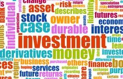 投资项目 免版税库存照片