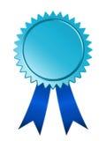 μπλε μετάλλιο Στοκ φωτογραφίες με δικαίωμα ελεύθερης χρήσης