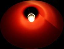 красный цвет светильника Стоковые Фото