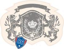 武装的狮子 免版税库存照片