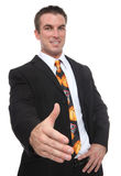 教练信号交换人提供 免版税库存照片