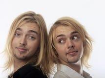 Πορτρέτο των δίδυμων αδερφών Στοκ εικόνες με δικαίωμα ελεύθερης χρήσης