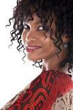 Προκλητικό αφρικανικό κορίτσι Στοκ Φωτογραφία
