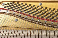 老钢琴 库存图片