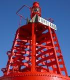 爱尔兰灯塔 免版税库存图片