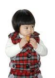 ασιατικό παιδί χαριτωμένο Στοκ Εικόνα