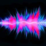 音频强大的通知 库存图片