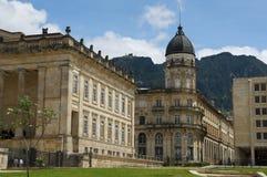 波哥大国会大厦哥伦比亚国民 免版税库存图片